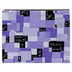Purple Pain Modular Cosmetic Bag (xxxl) by FunWithFibro