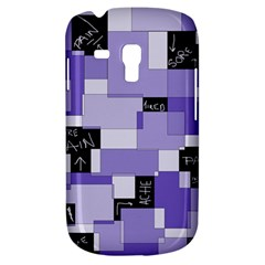 Purple Pain Modular Samsung Galaxy S3 Mini I8190 Hardshell Case by FunWithFibro