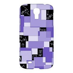 Purple Pain Modular Samsung Galaxy S4 I9500/i9505 Hardshell Case by FunWithFibro