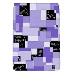 Purple Pain Modular Removable Flap Cover (large) by FunWithFibro