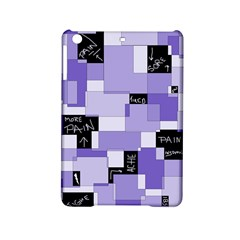 Purple Pain Modular Apple Ipad Mini 2 Hardshell Case by FunWithFibro