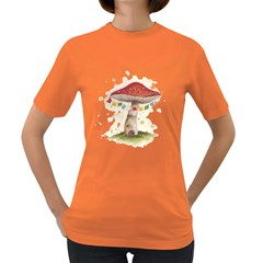 Shroom House Women s T Shirt (colored)