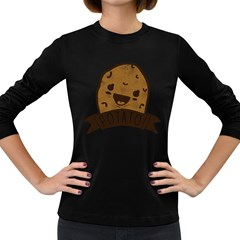 It s Potato Ermahgerd!! Women s Long Sleeve T Shirt (dark Colored)