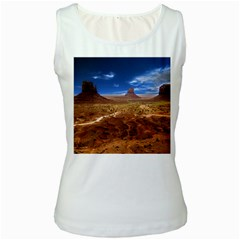 Monument Valley Women s Tank Top (white) by cgar