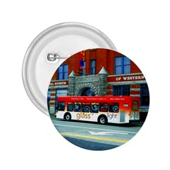 Double Decker Bus   Ave Hurley   2 25  Button by ArtRave2