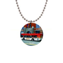 Double Decker Bus   Ave Hurley   Button Necklace by ArtRave2