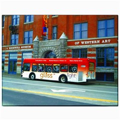 Double Decker Bus   Ave Hurley   Canvas 11  X 14  (unframed) by ArtRave2