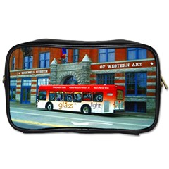 Double Decker Bus   Ave Hurley   Travel Toiletry Bag (one Side) by ArtRave2
