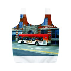 Double Decker Bus   Ave Hurley   Reusable Bag (m) by ArtRave2