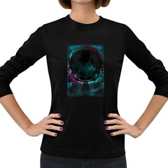 Ego Women s Long Sleeve T Shirt (dark Colored) by Contest1891613