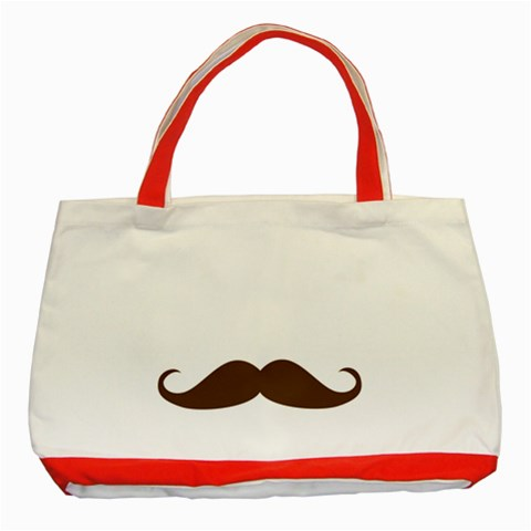 Dad By Anita   Classic Tote Bag (red)   Avtb3vwajngq   Www Artscow Com Front