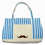 dad - Striped Blue Tote Bag