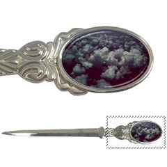 Through The Evening Clouds Letter Opener by ArtRave2