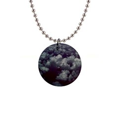 Through The Evening Clouds Button Necklace