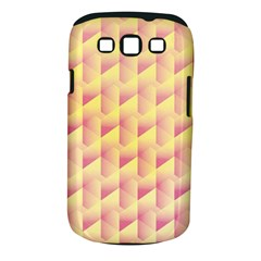 Geometric Pink & Yellow  Samsung Galaxy S Iii Classic Hardshell Case (pc+silicone) by Zandiepants
