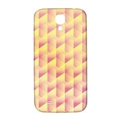 Geometric Pink & Yellow  Samsung Galaxy S4 I9500/i9505  Hardshell Back Case by Zandiepants