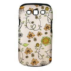 Yellow Whimsical Flowers  Samsung Galaxy S Iii Classic Hardshell Case (pc+silicone) by Zandiepants