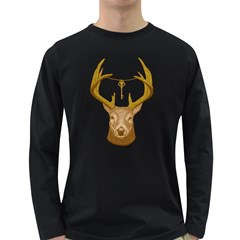 Golden Key Men s Long Sleeve T Shirt (dark Colored) by Contest1836099