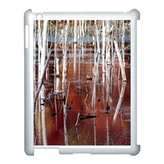 Automn Swamp Apple Ipad 3/4 Case (white) by cgar