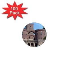 Helsingborg Castle 1  Mini Button Magnet (100 pack)