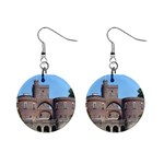 Helsingborg Castle Mini Button Earrings Front