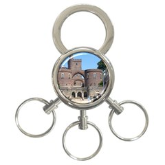 Helsingborg Castle 3 Ring Key Chain by StuffOrSomething