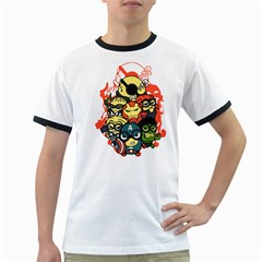 Despicable Avengers Men s Ringer T Shirt by Contest1736614