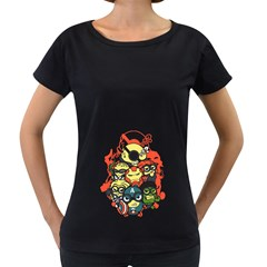 Despicable Avengers Women s Loose Fit T Shirt (black) by Contest1736614