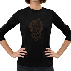 Shepherd Women s Long Sleeve T Shirt (dark Colored) by Contest1907917