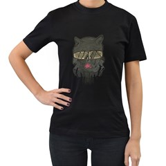 Lobo Women s T Shirt (black) by Contest1853705