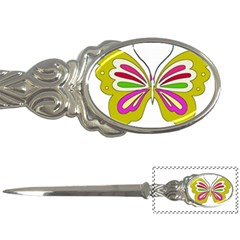 Color Butterfly  Letter Opener