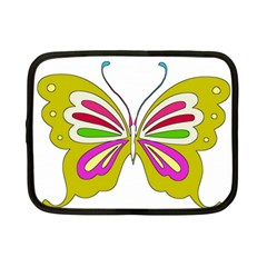 Color Butterfly  Netbook Sleeve (small) by Colorfulart23