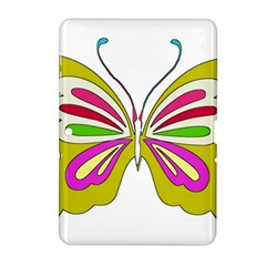 Color Butterfly  Samsung Galaxy Tab 2 (10 1 ) P5100 Hardshell Case  by Colorfulart23