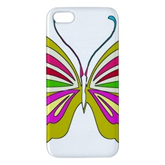 Color Butterfly  Iphone 5s Premium Hardshell Case by Colorfulart23