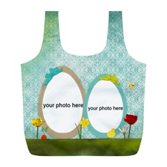 Happy Easter Bag By Zornitza   Full Print Recycle Bag (l)   3cye4rzrdetu   Www Artscow Com Front