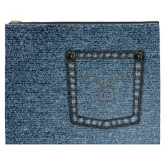 Jeans By Divad Brown   Cosmetic Bag (xxxl)   Jpcojmv9yxy4   Www Artscow Com Front