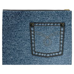 Jeans By Divad Brown   Cosmetic Bag (xxxl)   Jpcojmv9yxy4   Www Artscow Com Back