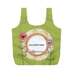 Spring Love bag - Full Print Recycle Bag (M)