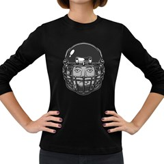 Unplayed Women s Long Sleeve T Shirt (dark Colored)