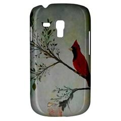 Sweet Red Cardinal Samsung Galaxy S3 Mini I8190 Hardshell Case by rokinronda