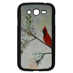 Sweet Red Cardinal Samsung Galaxy Grand Duos I9082 Case (black) by rokinronda