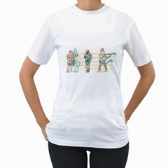 Let s Play Music Women s T Shirt (white)  by Contest1916254