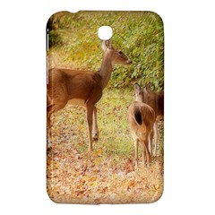 Deer In Nature Samsung Galaxy Tab 3 (7 ) P3200 Hardshell Case  by uniquedesignsbycassie
