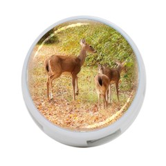 Deer in Nature 4-Port USB Hub (One Side) by uniquedesignsbycassie