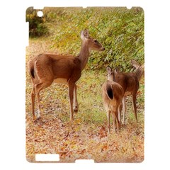 Deer in Nature Apple iPad 3/4 Hardshell Case by uniquedesignsbycassie