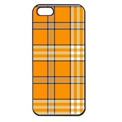 Tartan 17 Apple Iphone 5 Seamless Case (black) by chivieridesigns