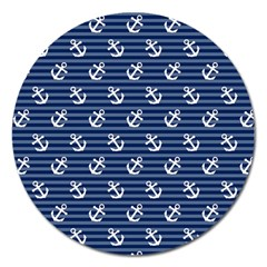 Boat Anchors Magnet 5  (round) by StuffOrSomething