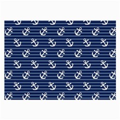 Boat Anchors Glasses Cloth (large, Two Sided) by StuffOrSomething