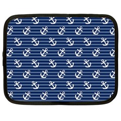 Boat Anchors Netbook Sleeve (large) by StuffOrSomething