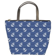Boat Anchors Bucket Handbag by StuffOrSomething